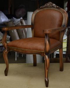 Кресло Марсель с жестким подлокотником